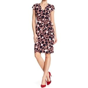 Maggy London Dresses - Maggy London Belted Wrap Dress